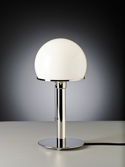 Table lamp WA 24 Design: Wilhelm Wagenfeld, 1923/24 zenolight tecnolumen
