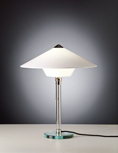 Table lamp WG 28 Design: Wilhelm Wagenfeld, 1928 zenolight tecnolumen