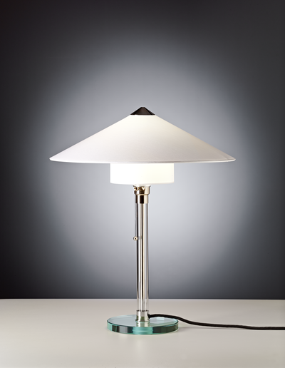 Table lamp WG 27 Design: Wilhelm Wagenfeld, 1928 zenolight tecnolumen