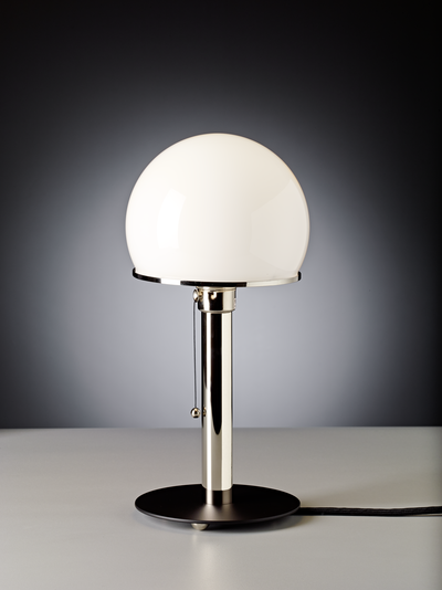Table lamp WA 23 SW Design: Wilhelm Wagenfeld, 1923/24 zenolight tecnolumen
