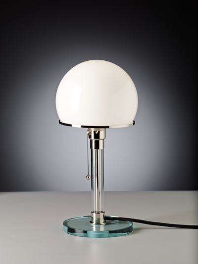 Table lamp WG 24 Design: Wilhelm Wagenfeld, 1923/24 zenolight tecnolumen
